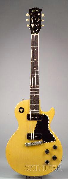 "American Electric Guitar, Gibson Incorporated, Kalamazoo, 1957, Model Les Paul ""TV"""
