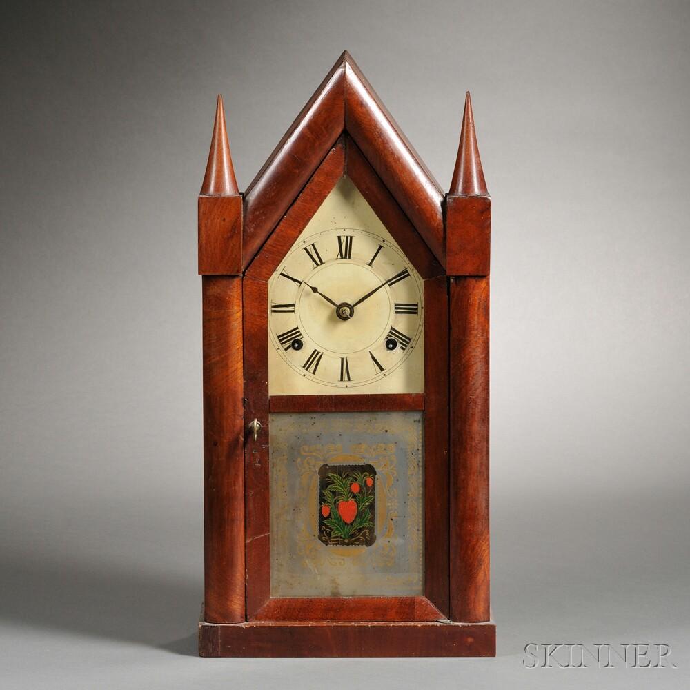 Boardman & Wells Fusee Steeple Clock