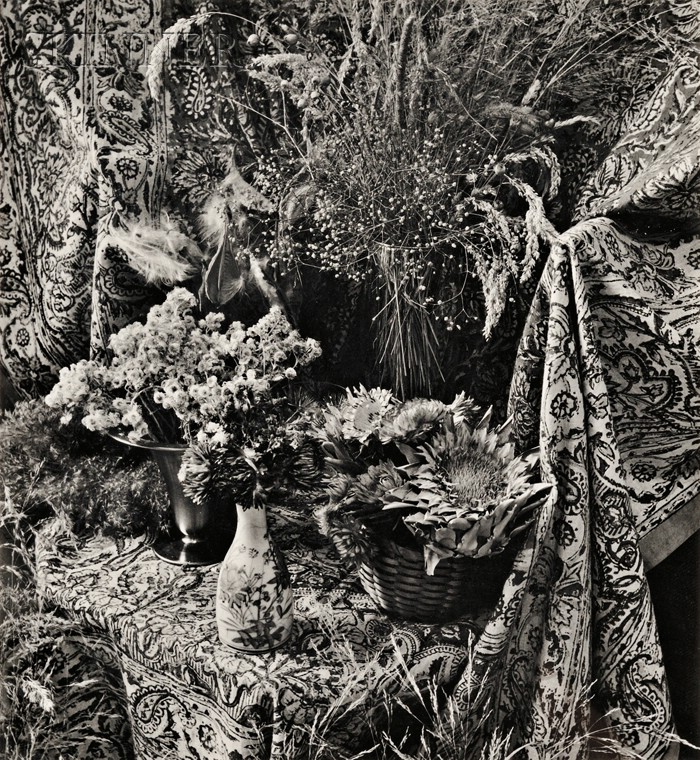 Marie Cosindas (American, b. 1925)      Still Life with Flowers.