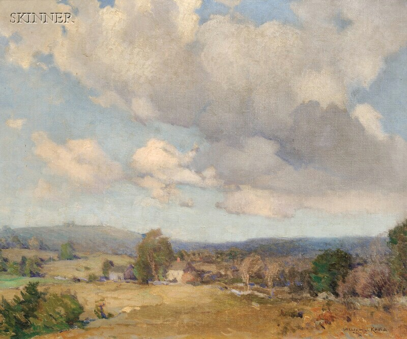 William Jurian Kaula (American, 1871-1953)      Clouds from the West (New Ipswich, New Hampshire)