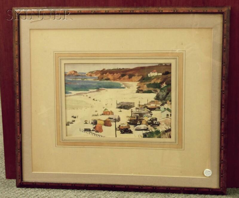 Keith Shaw Williams (American, 1906-1951)      Corona del Mar