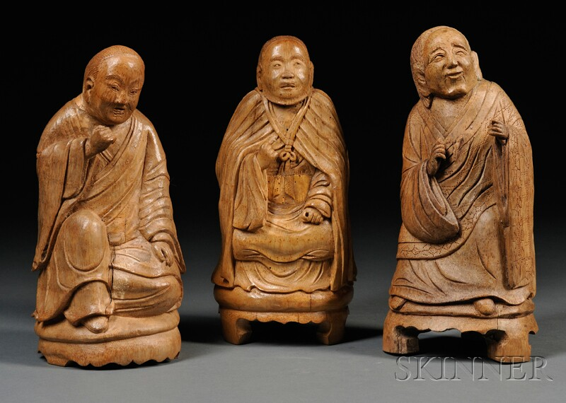 Three Bamboo Carvings