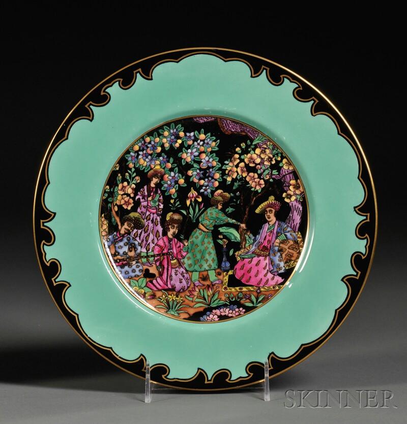 Wedgwood Nizami   Lustre Plate