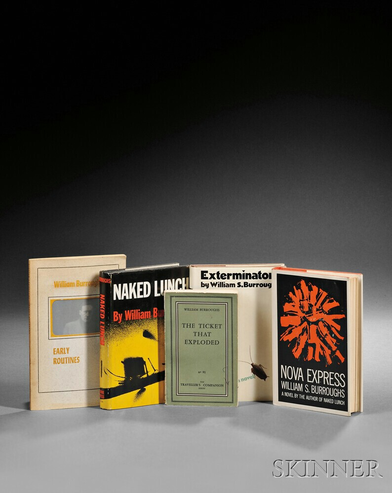 Burroughs, William S. (1914-1997) Naked Lunch  , and Four Others.