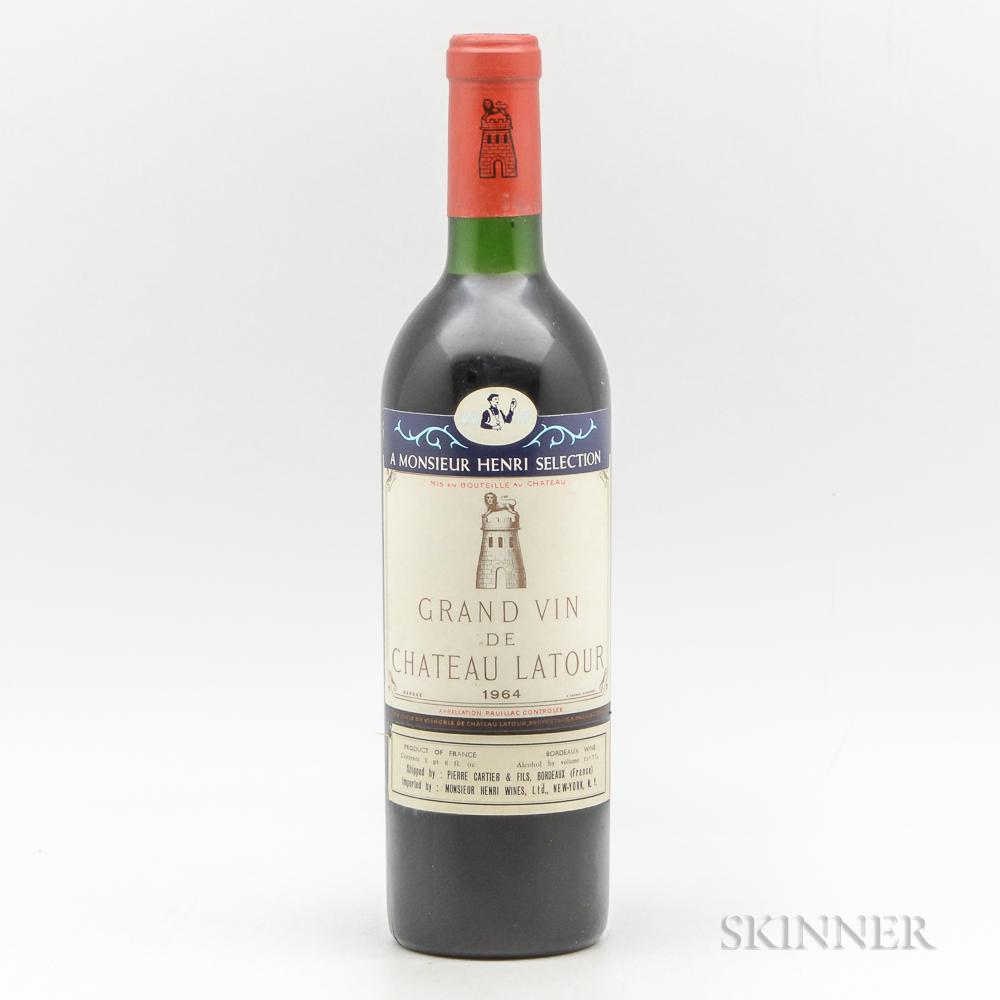 Chateau Latour 1964, 1 bottle