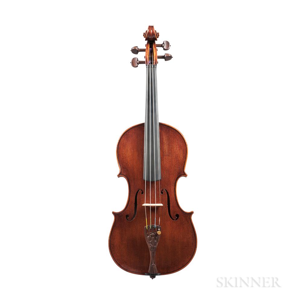 Canadian Violin, Otis A. Tomas, Cape Breton, 2013