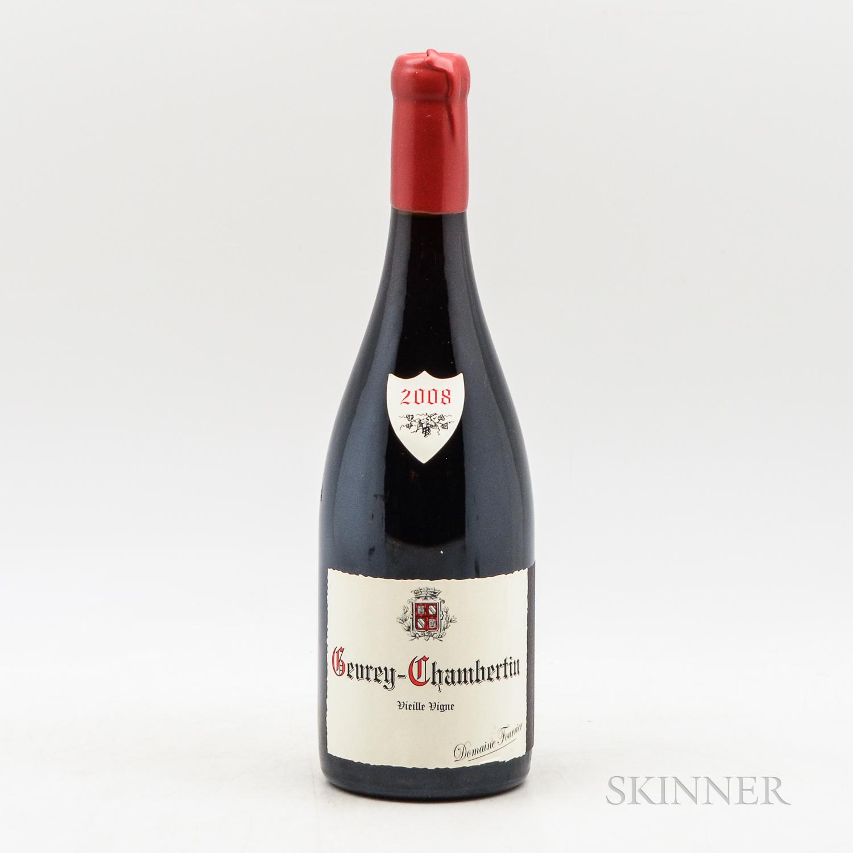 Fourrier Gevrey Chambertin Vieille Vigne 2008, 1 bottle