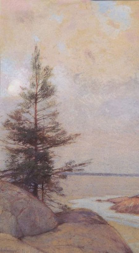 Henry Hobart Nichols (American, 1869-1962)    Yellowstone, Winter Morning