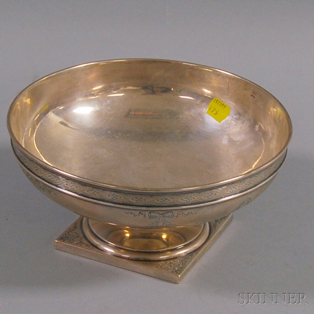 Shreve, Crump & Low Sterling Silver Footed Center BowlShreve, Crump & Low...