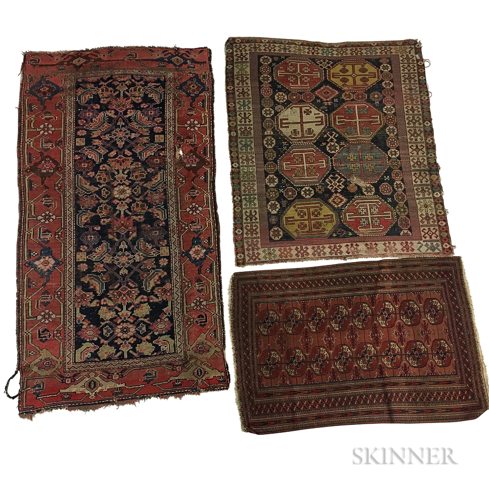 Three Small Rugs Number 3254t