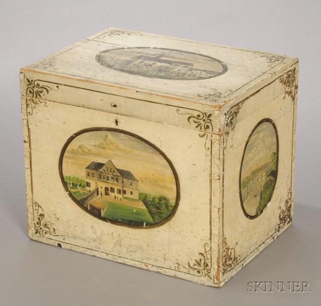 Polychrome Decorated Box