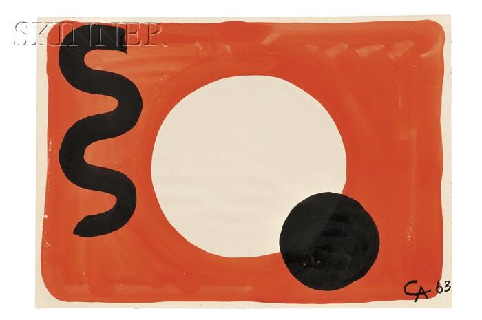 Alexander Calder (American, 1898-1976)      Void's Edge