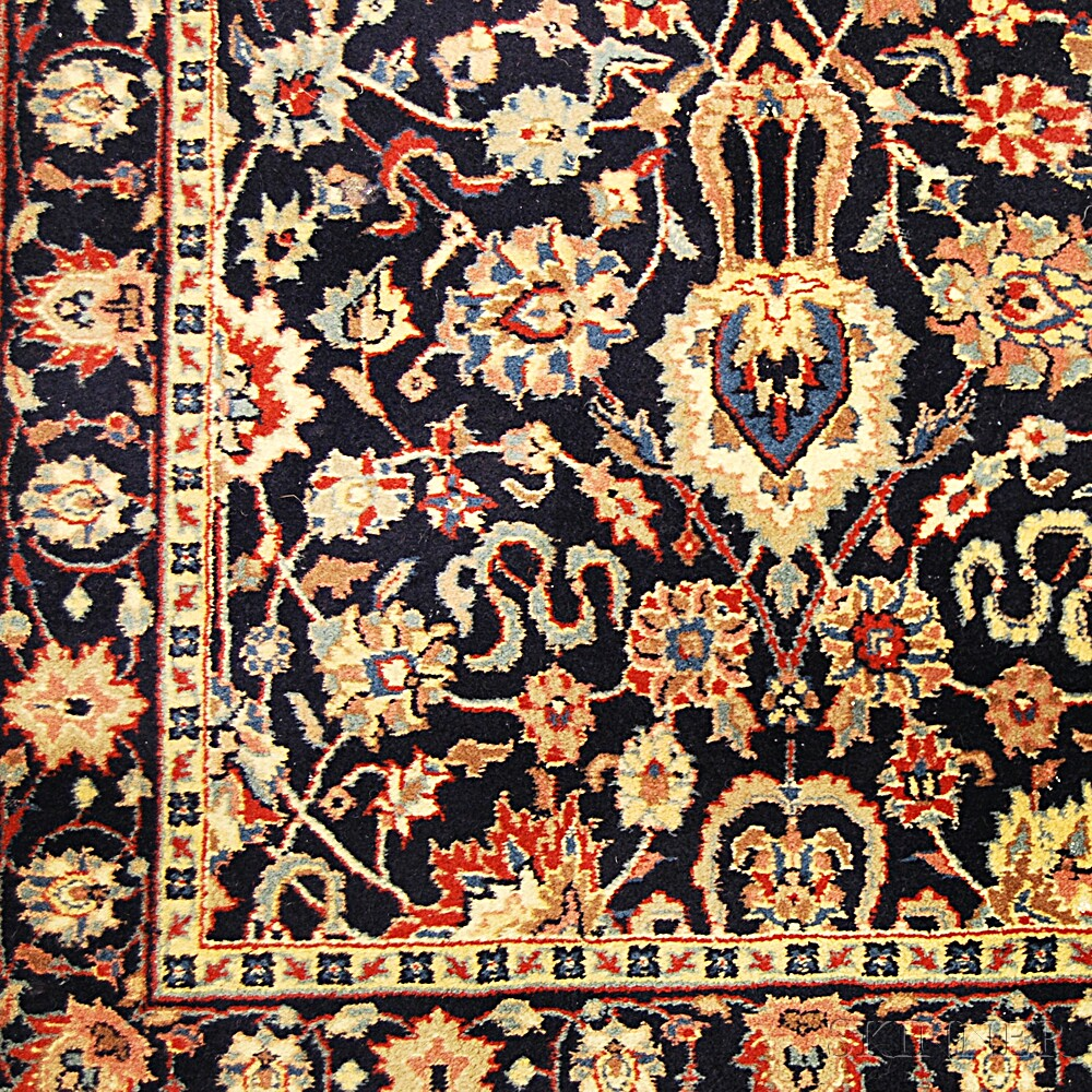 Four Indian Oriental-style Rugs