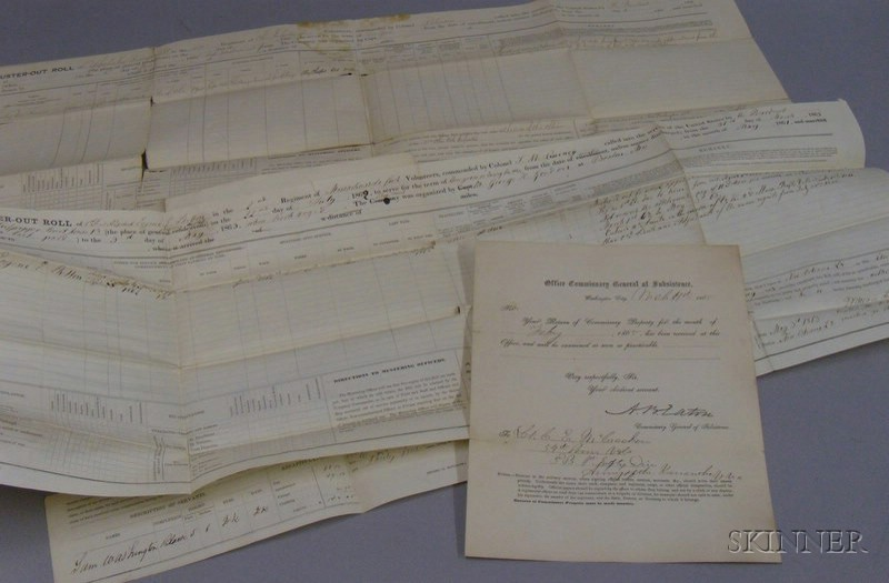 Group of Union Army Civil War Documents