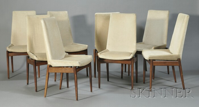Eight Archie Shine for Robert Heritage Dining Chairs