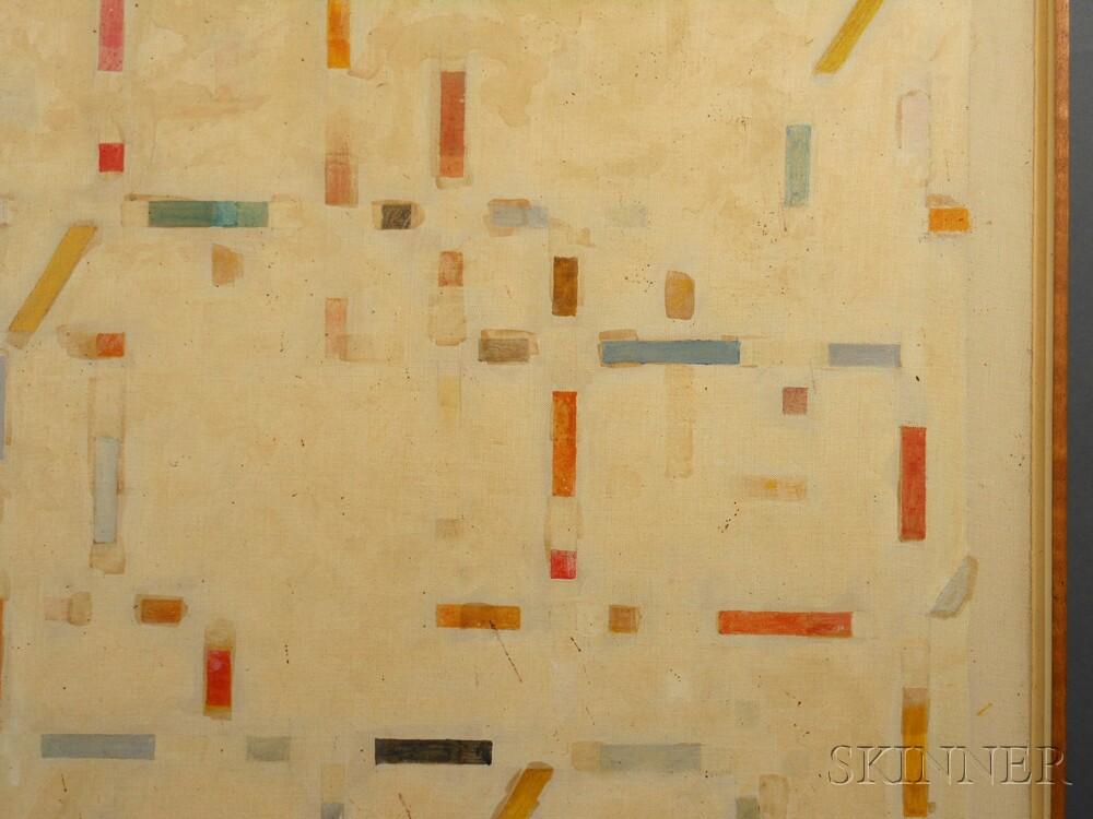 Michael Loew (American, 1907-1985)      Dot-Dash Series #2