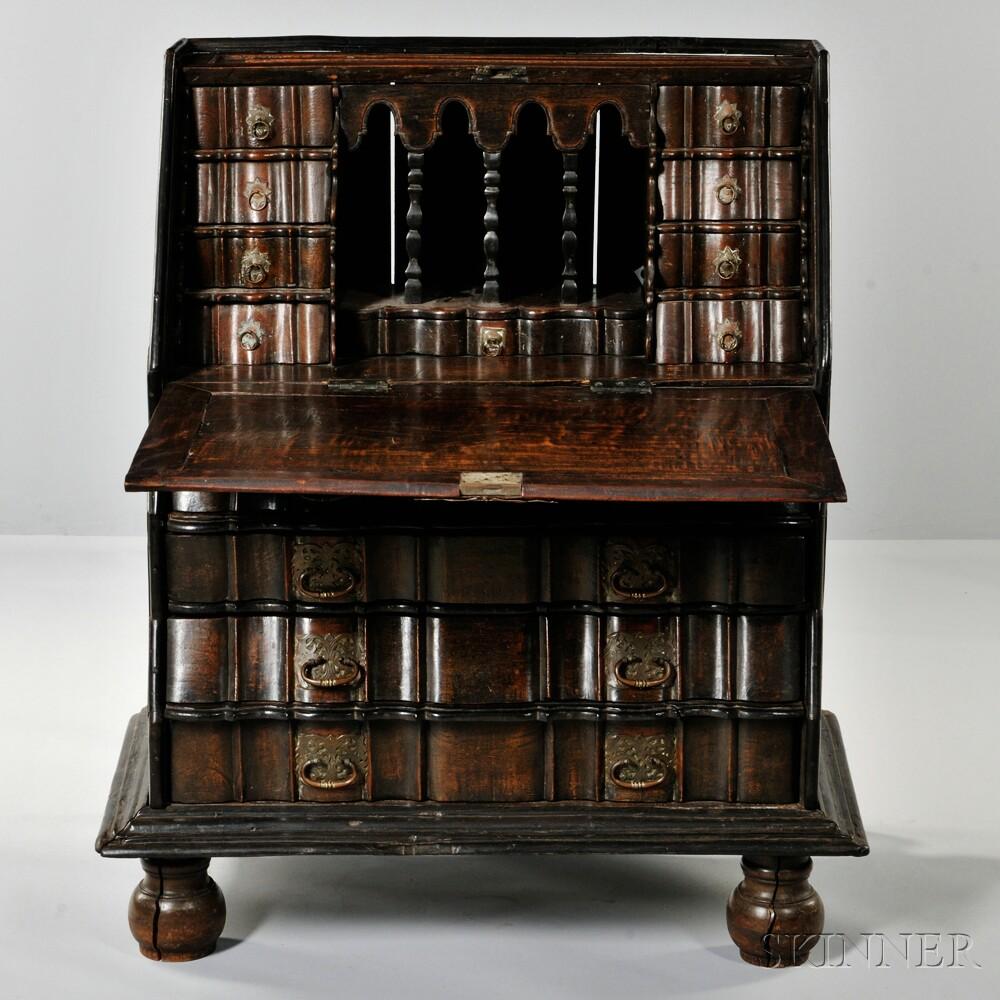 Dutch Colonial Padauk Desk