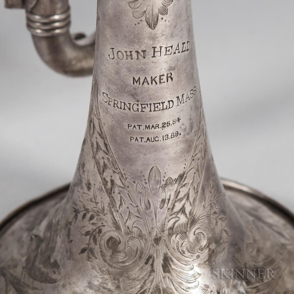 American Cornet, John Heald, Springfield, c. 1900