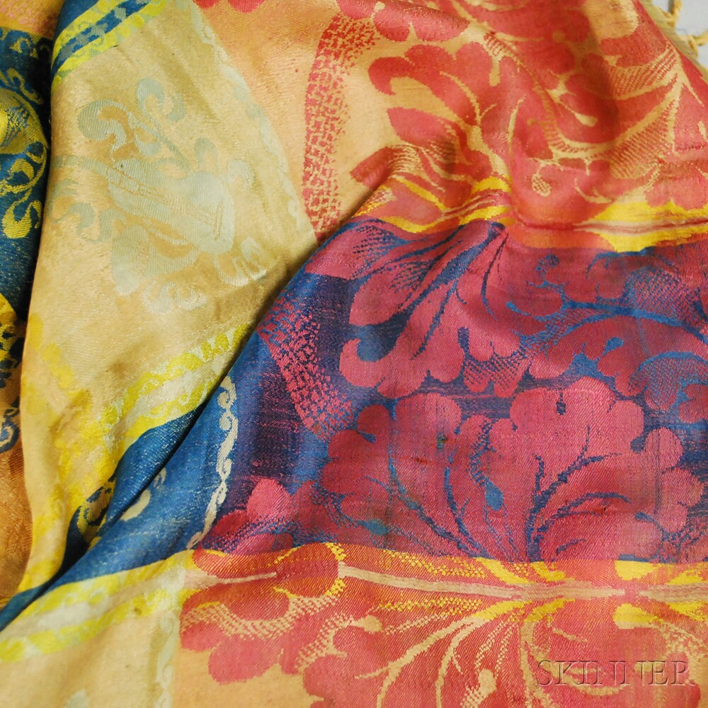 Six Assorted Continental Textiles