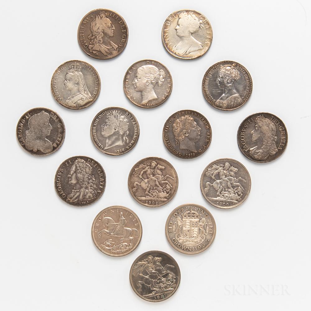 Fifteen British Crowns
