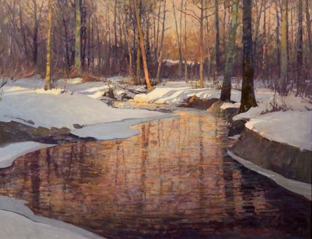 David Bareford (American, b. 1947)    Woodland Winter