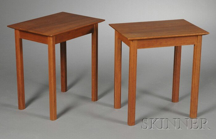 Pair of Charles Webb End Tables