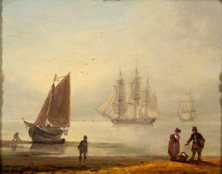 Thomas Luny (British, 1759-1837)    Teignmouth, Devon