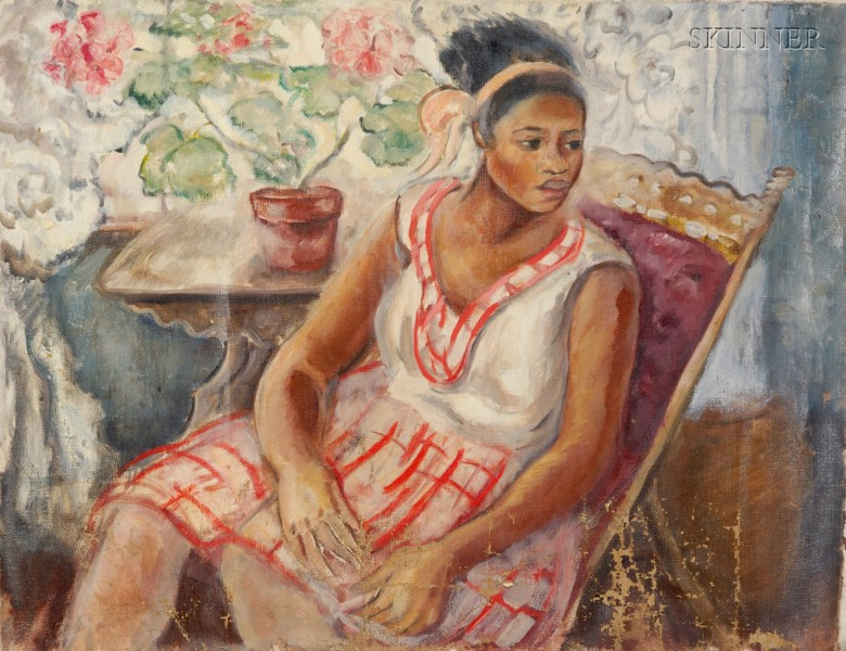 Caroline Speare Rohland (American, 1885-1965)      Sketch of Lilly