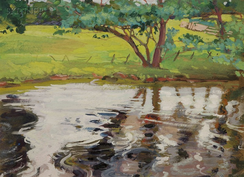 Margaret Jordan Patterson (American, 1867-1950)      Bonny Doon