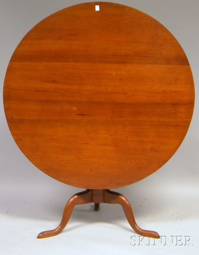 Cherry Tilt-top Tea Table
