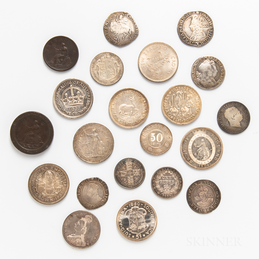 Group of British and Imperial Coins