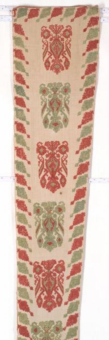 Greek Island Embroidered Textile