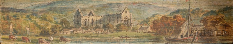 (Fore-Edge Painting, Double), Tennyson, Alfred Lord (1809-1892)