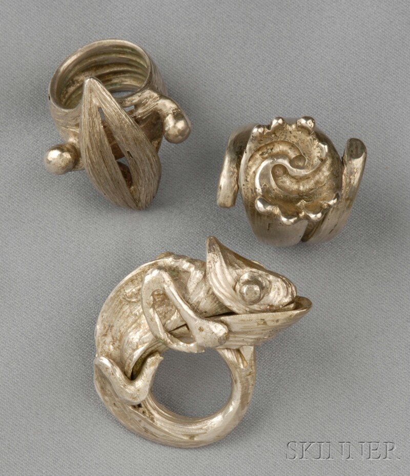 Three Metal Rings