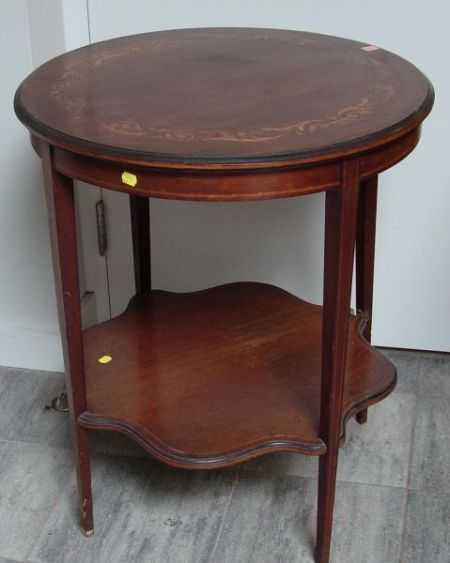 Cobb Buzzell Co Edwardian Inlaid Mahogany Occasional Table Sale Number 2327 Lot Number 1194 Skinner Auctioneers