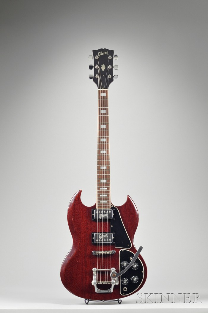 American Electric Guitar, Gibson Incorporated, Kalamazoo, c. 1974, Model SG
