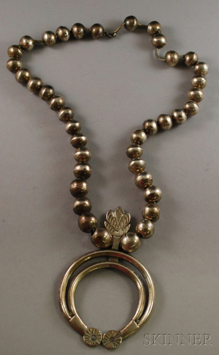 Southwestern Sterling Silver Necklace