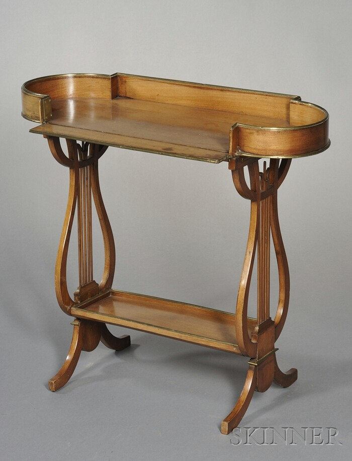 Louis XVI Brass-mounted Mahogany Tric-Trac Table