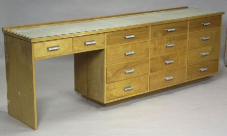 Mid Century Modern  Architectural cabinet