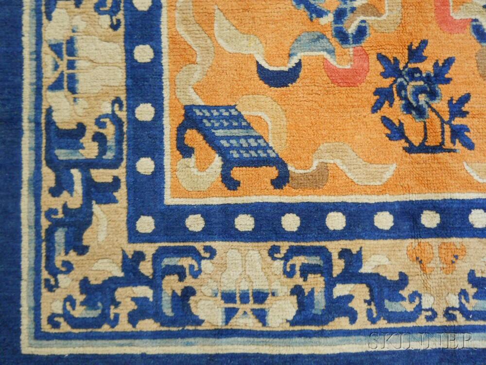 Buddhist Lion Rug