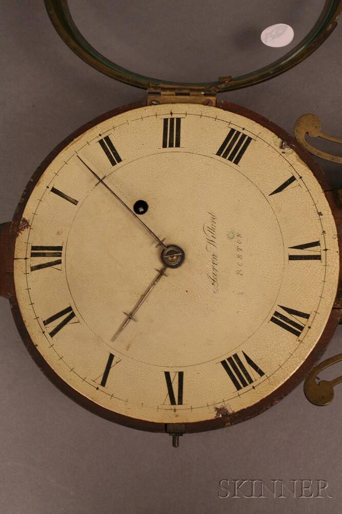 Aaron Willard Patent Timepiece or