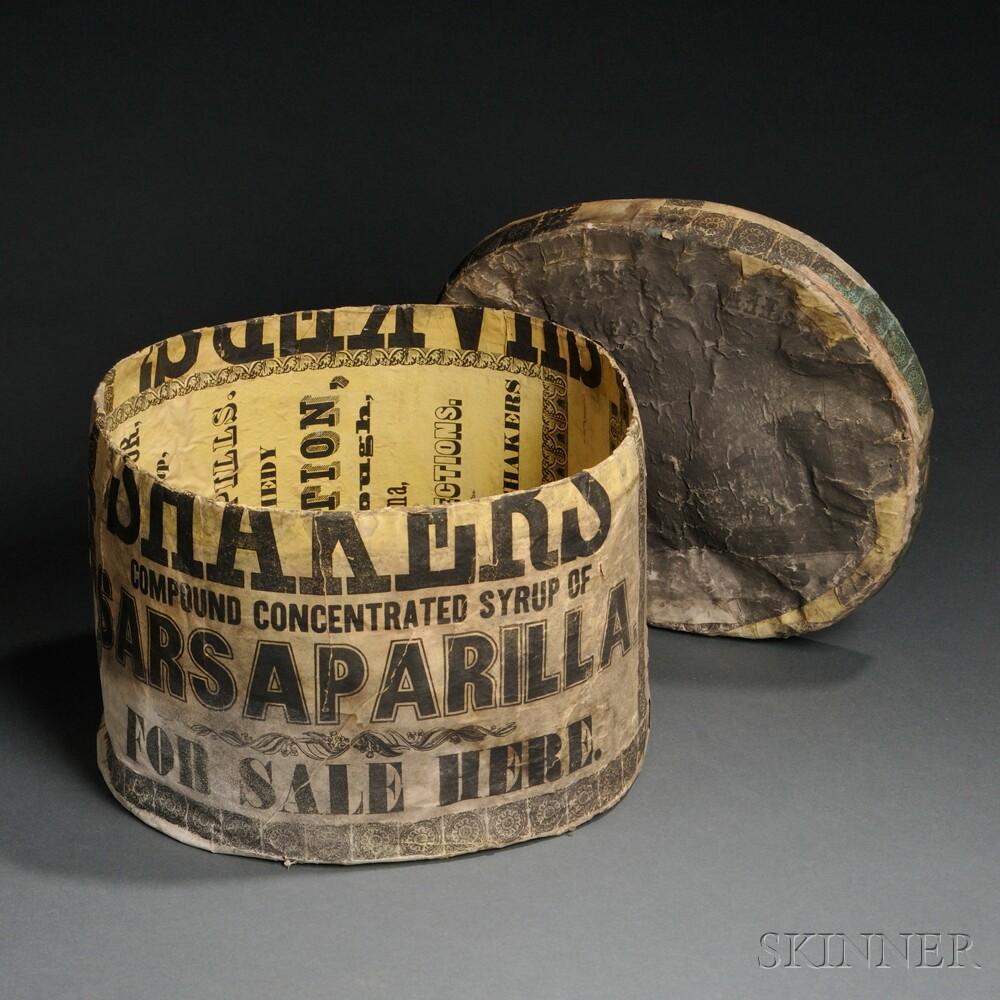 Shaker Herb Label