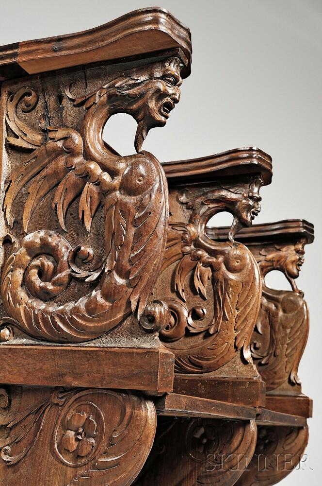 Italian-style Carved Choir Stalls