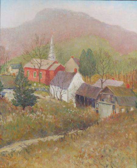 American School, 20th Century    Vermont Landscape