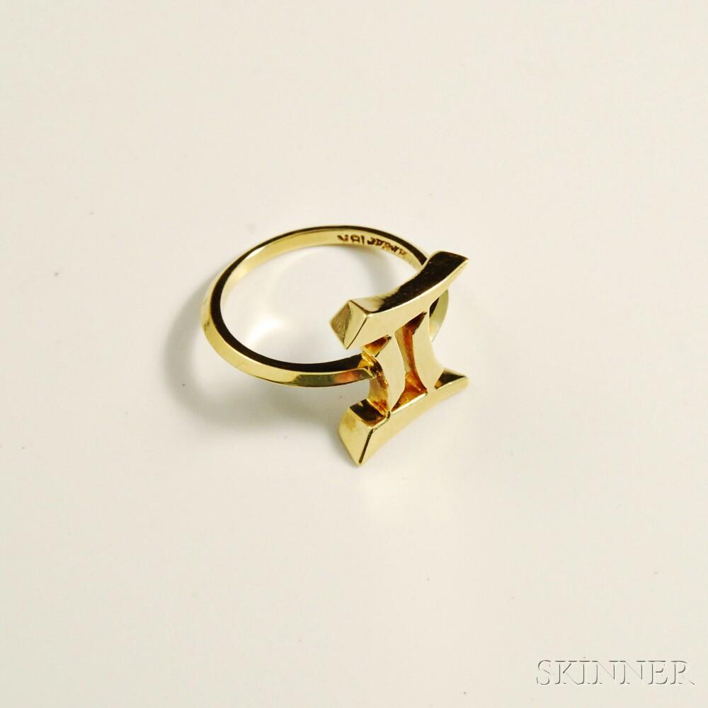 Cartier 18kt Gold Ring
