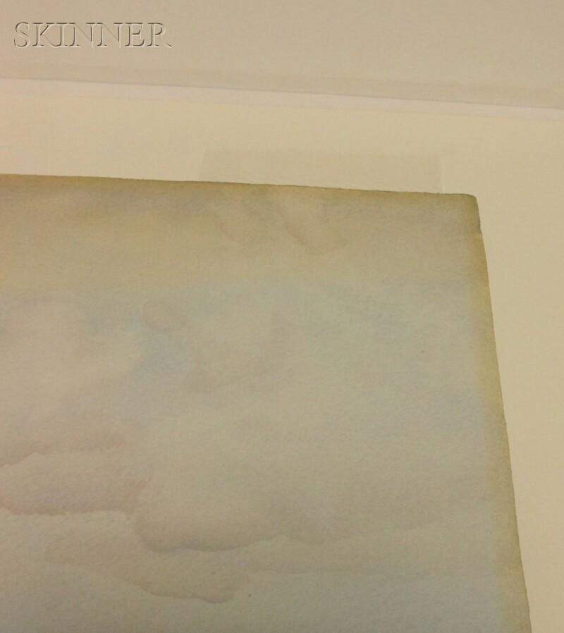 William Russell Flint (Scottish, 1880-1969)      View of Eigg
