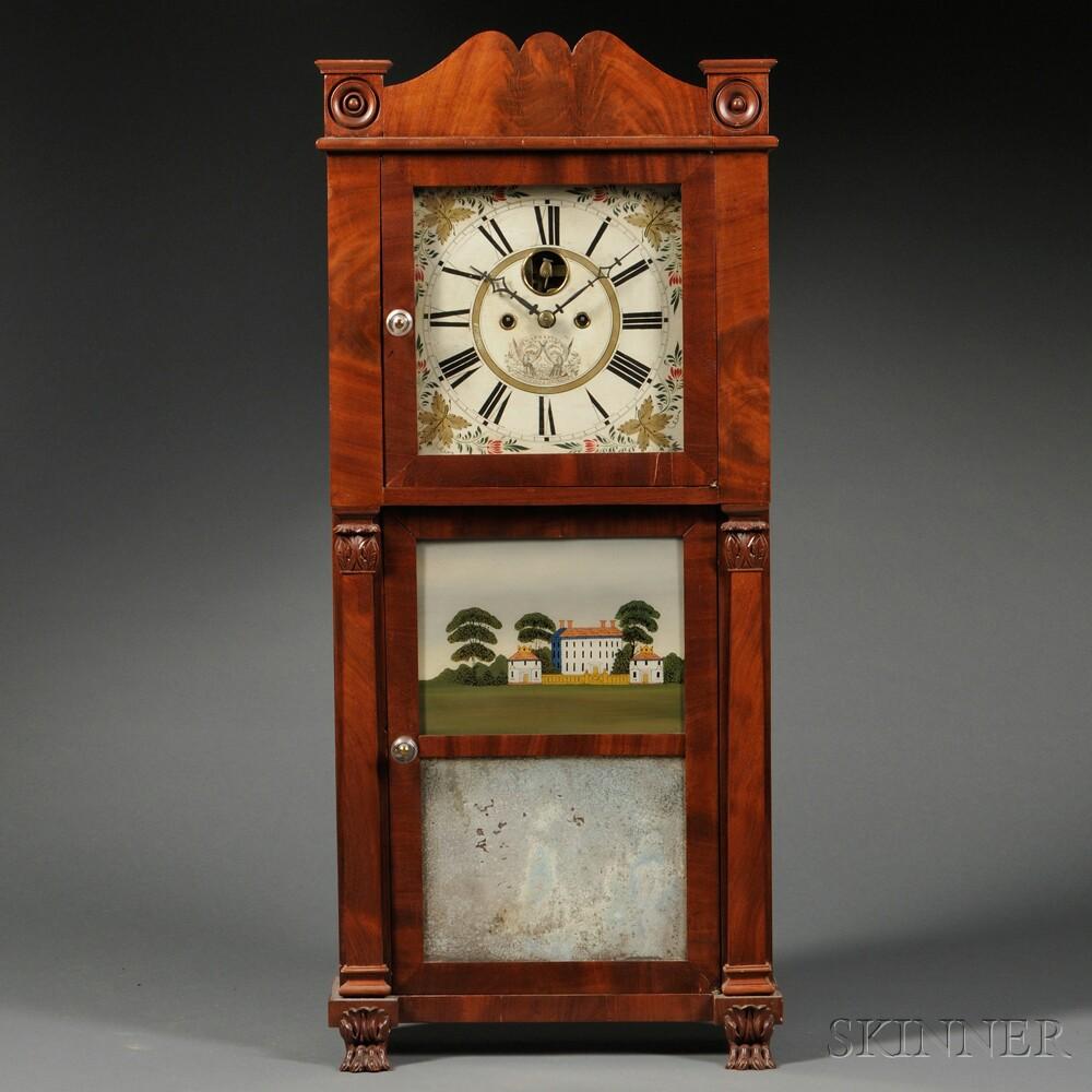 Hotchkiss and Benedict Triple-decker Clock