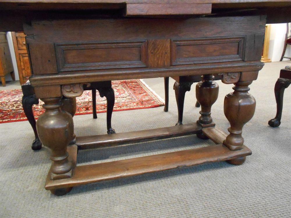 Baroque-style Oak Table