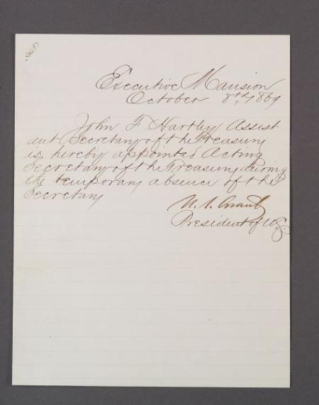 Grant, Ulysses S. (1822-1885)