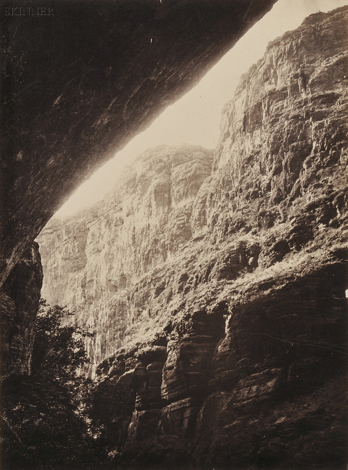 Dr. William Abraham Bell (American, 1841-1920)      Cañon of Kanab Wash, Colorado River, Looking South